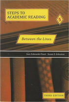 Between the Lines, Third Edition (Steps to Academic Reading 5) from ESLgold.com