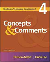 Concepts & Comments (Reading & Vocabulary Development) from ESLgold.com