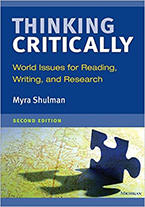 Thinking Critically, Second Edition: World Issues for Reading, Writing, and Research from ESLgold.com